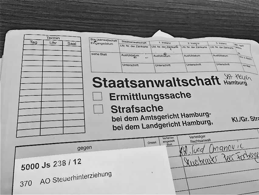 Anwalt Steuerstrafrecht Hamburg